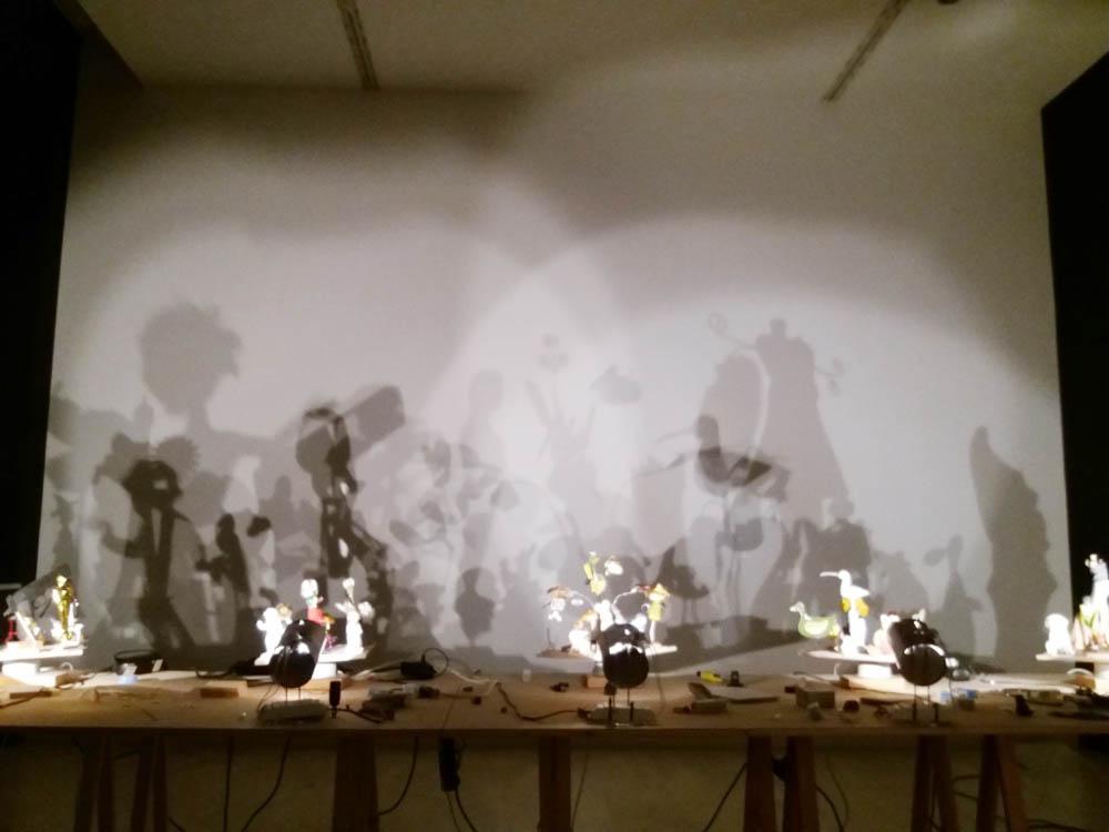 RWB Essen - Besuch des Museums K21 - Installation von Hans Peter Feldmann - Das Schattenspiel