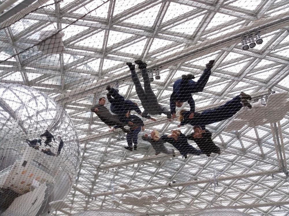 RWB Essen - Besuch des Museums K21 - Die KE 2-1 im Netz