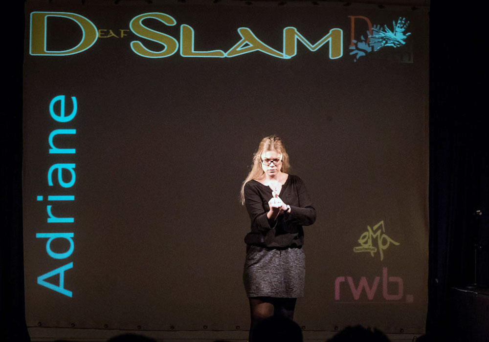 RWB Essen - Deaf Slam IV - Adriane