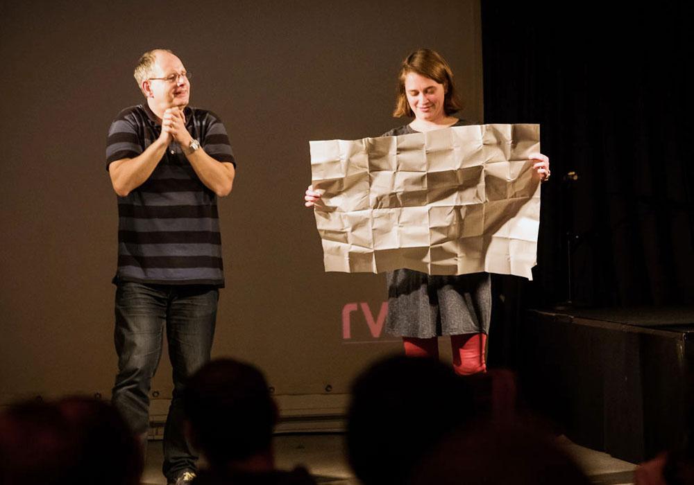 RWB Essen - Deaf Slam IV - Moderatorenteam Christian und Simone