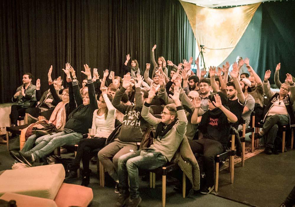 RWB Essen - Deaf Slam IV - Das Publikum