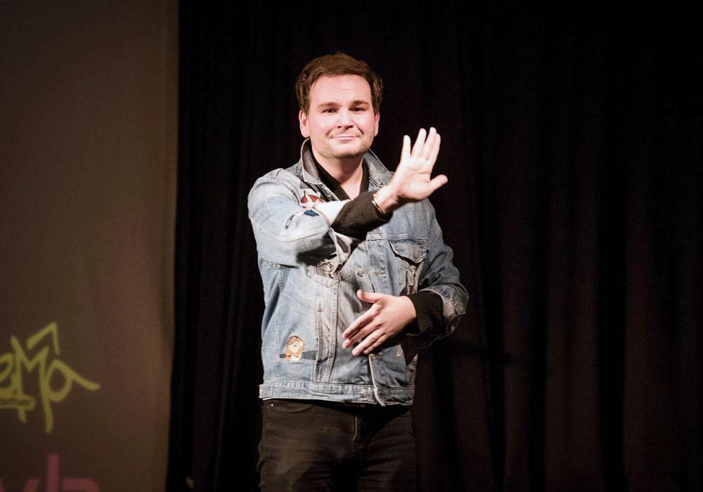 RWB Essen - Deaf Slam IV - Rafael Grombelka
