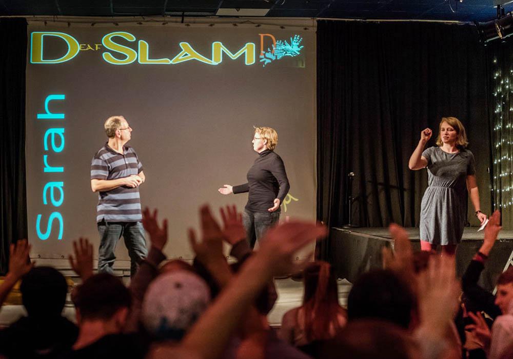 RWB Essen - Deaf Slam IV - Christian mit Sarah