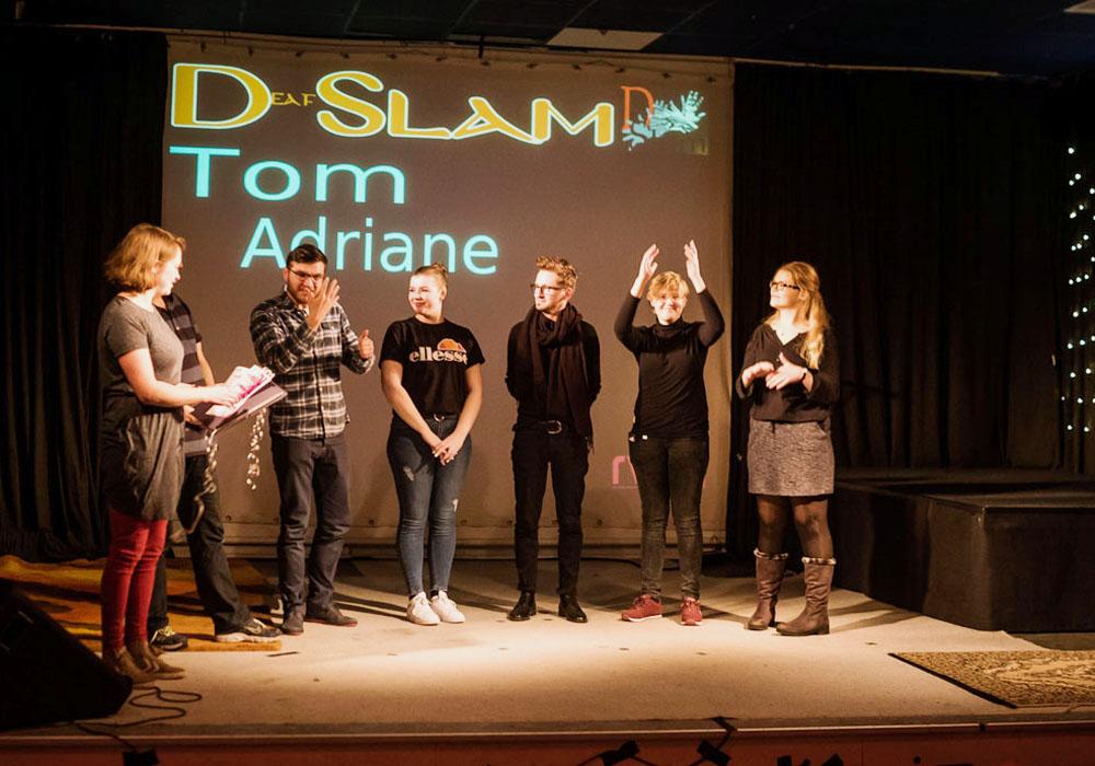 RWB Essen - Deaf Slam IV - Siegerehrung