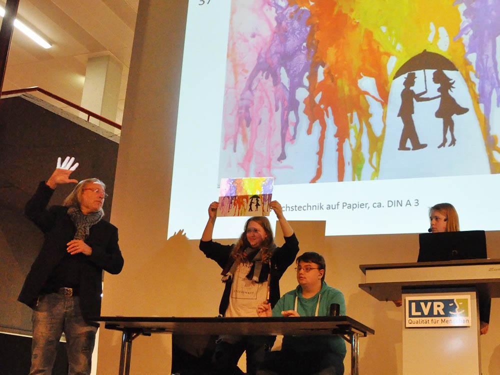 RWB Essen - Kunstauktion 2017 - Die Auktionatoren stellen die Kunstwerke vor.