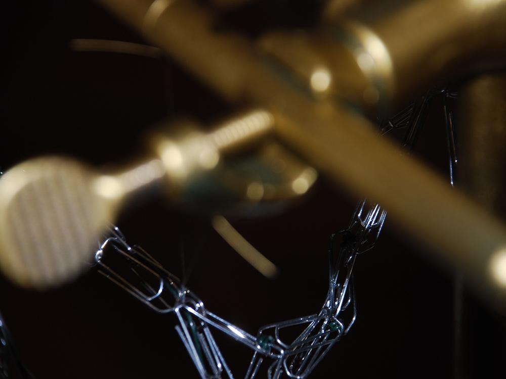 RWB Essen - Ausstellung im RWB - Wer designed das krummste Ding - Detailaufnahme eines Kunstobjekts