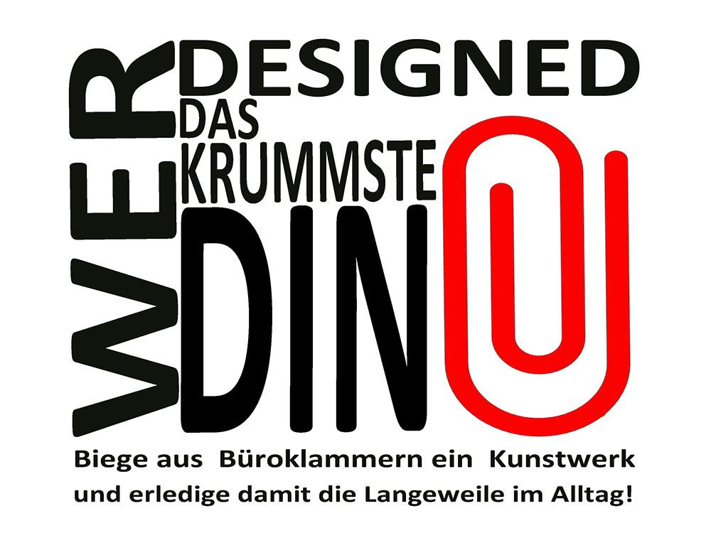 RWB Essen - Ausstellung im RWB - Wer designed das krummste Ding - Ausstellungsplakat