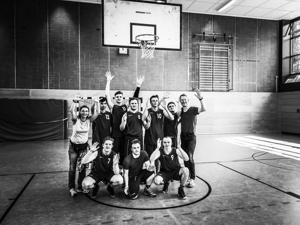 RWB Essen - Deutsche Basketball-Schulmeisterschaften in Berlin 2018 - Das Team