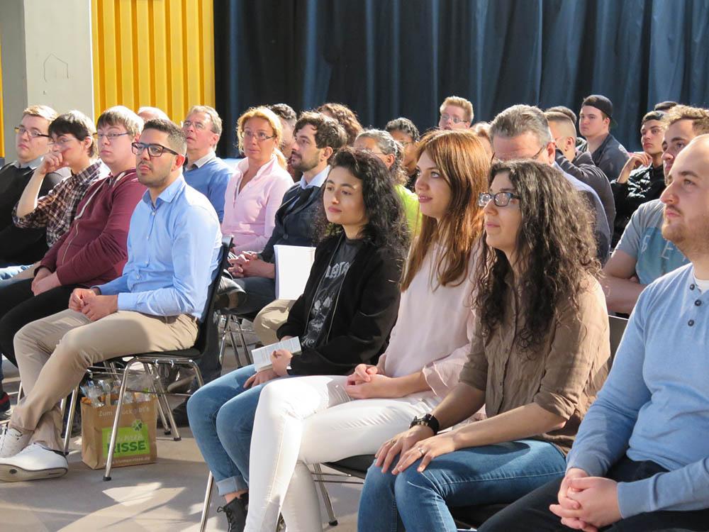 RWB Essen -  Abschlussfeier Bau/Holz/Gestaltung/Agrar 2018 - 2