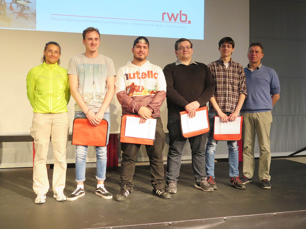 RWB Essen -  Abschlussfeier Bau/Holz/Gestaltung/Agrar 2018 - 5