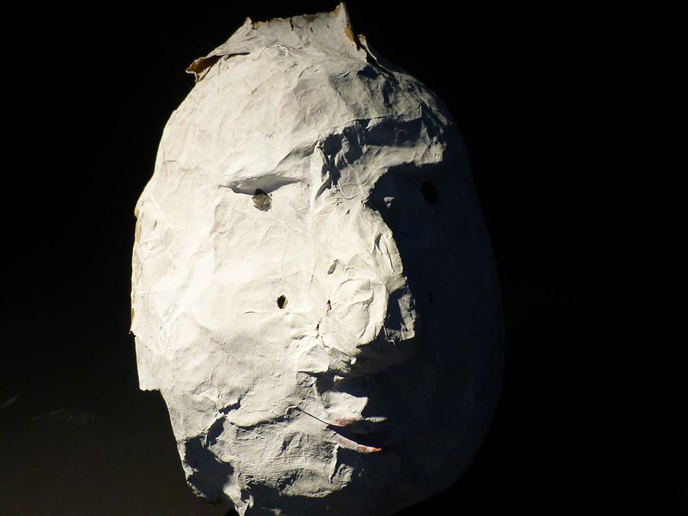 "RWB Essen - Kunstprojekt ""Alles Theater"" - Maske 2"