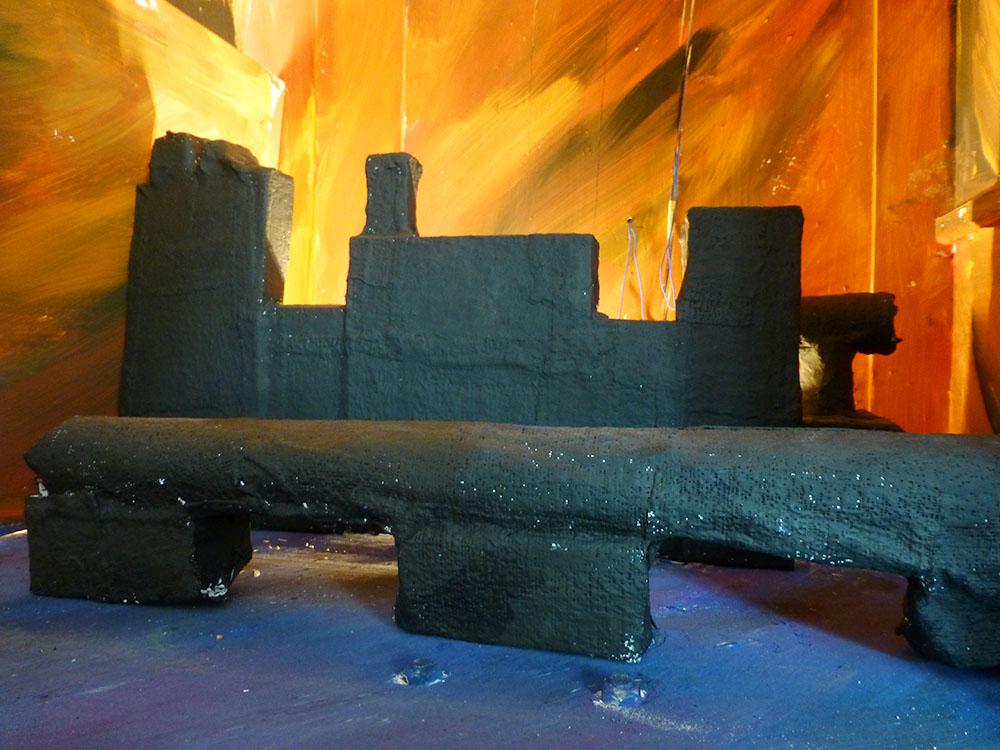 "RWB Essen - Kunstprojekt ""Alles Theater"" - Bühnenbild ""Frankfurt"""