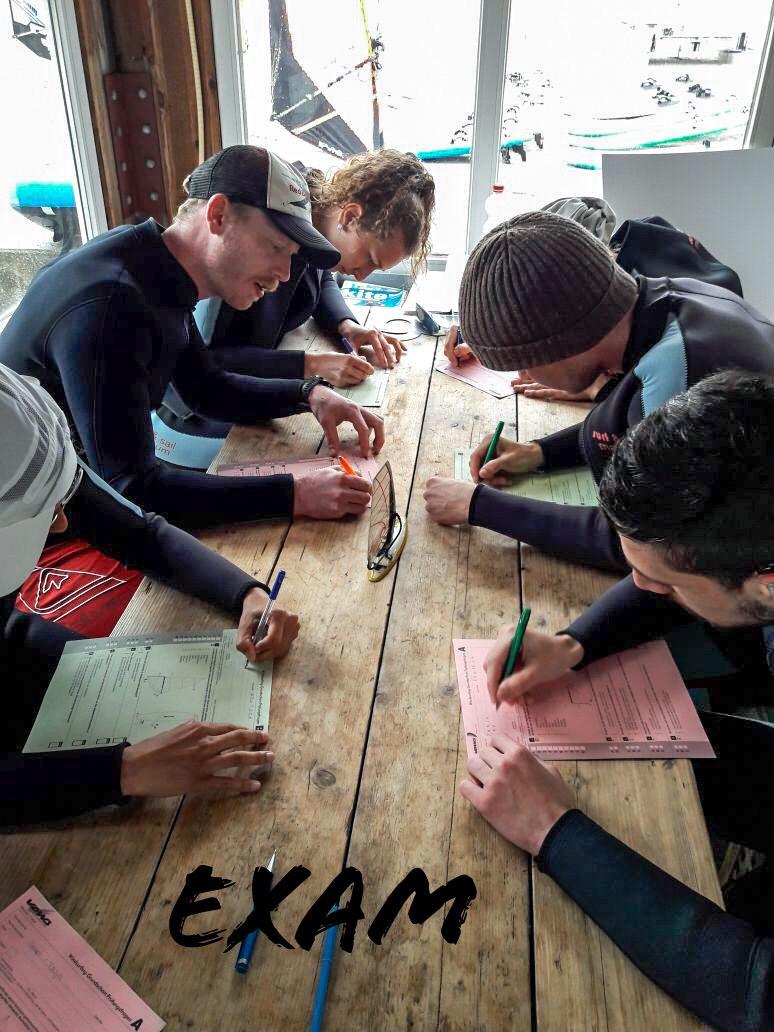 RWB Essen - Surfwoche in Makkum 2018 - Theoretische Prüfung