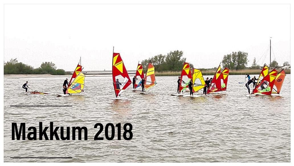RWB Essen - Surfwoche in Makkum 2018 - Gemeinsame Fahrt