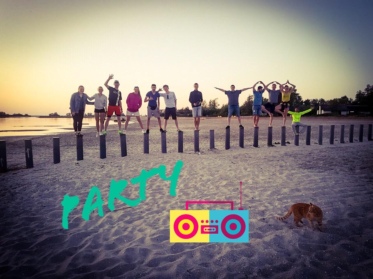 RWB Essen - Surfwoche in Makkum 2018 - Party am Strand