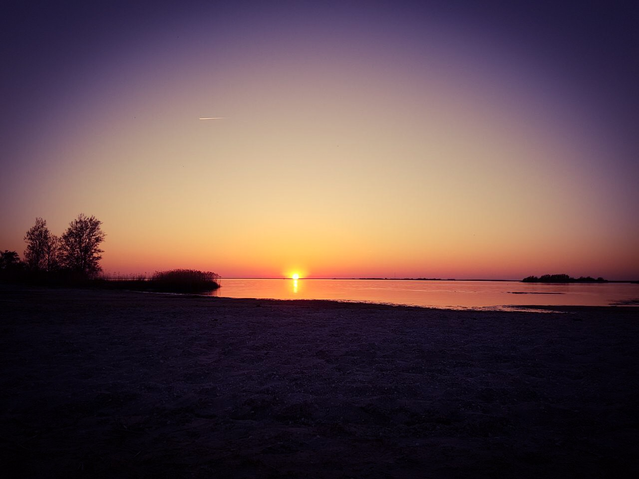 RWB Essen - Surfwoche in Makkum 2018 - Sonnenuntergang am Meer