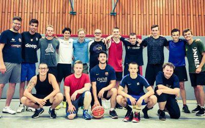 Lehrgang mit dem Basketball-Bundestrainer Jens Goetz
