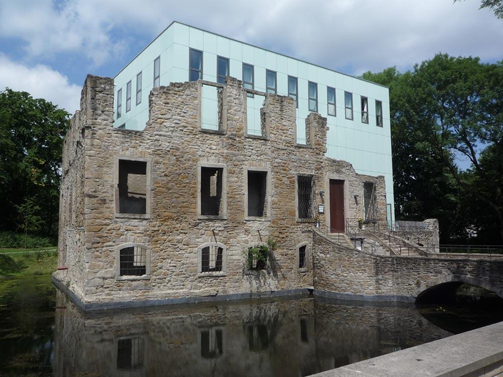 RWB Essen - Museum unter Tage - Außengelände - Haus Weitmar