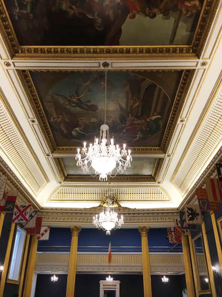 RWB Essen - Studienfahrt nach Dublin -  Besuch des Dublin Castle