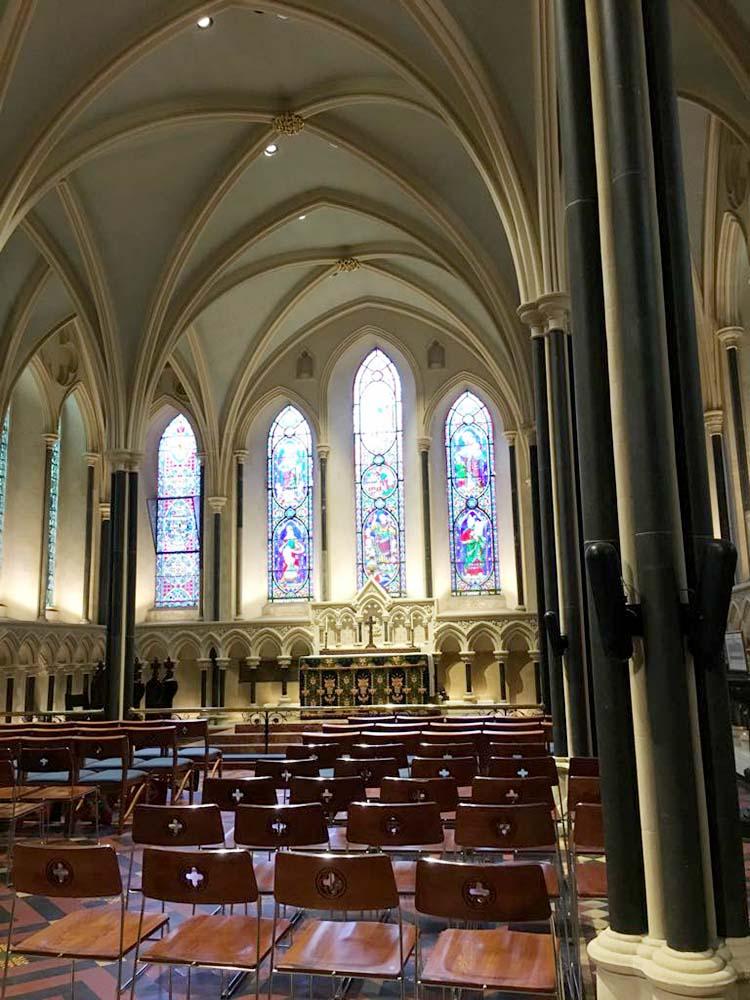 RWB Essen - Studienfahrt nach Dublin -  Besuch der St. Patricks Cathedral
