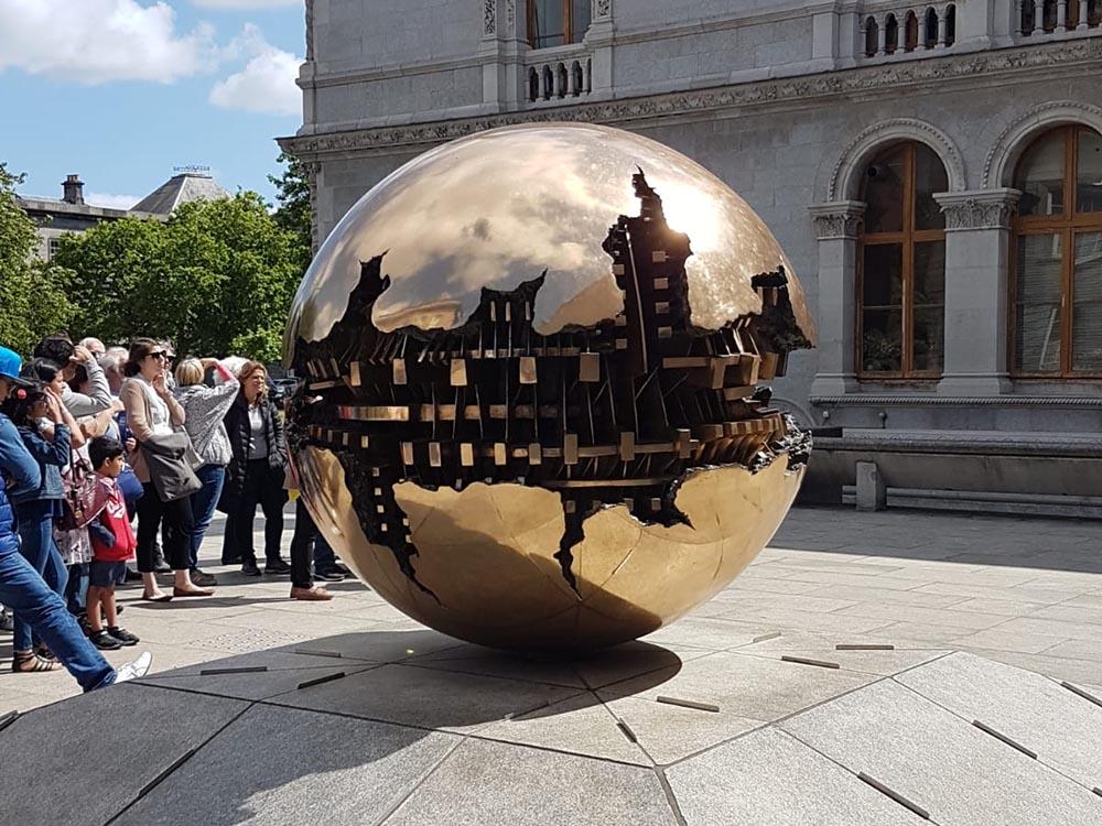 RWB Essen - Studienfahrt nach Dublin -  Besuch des Trinity College