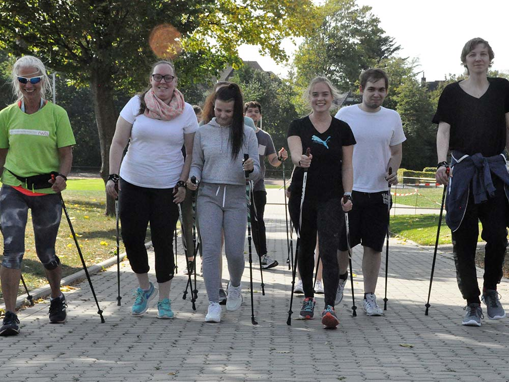 RWB Essen - Sportfest 2018 - Nordic Walking