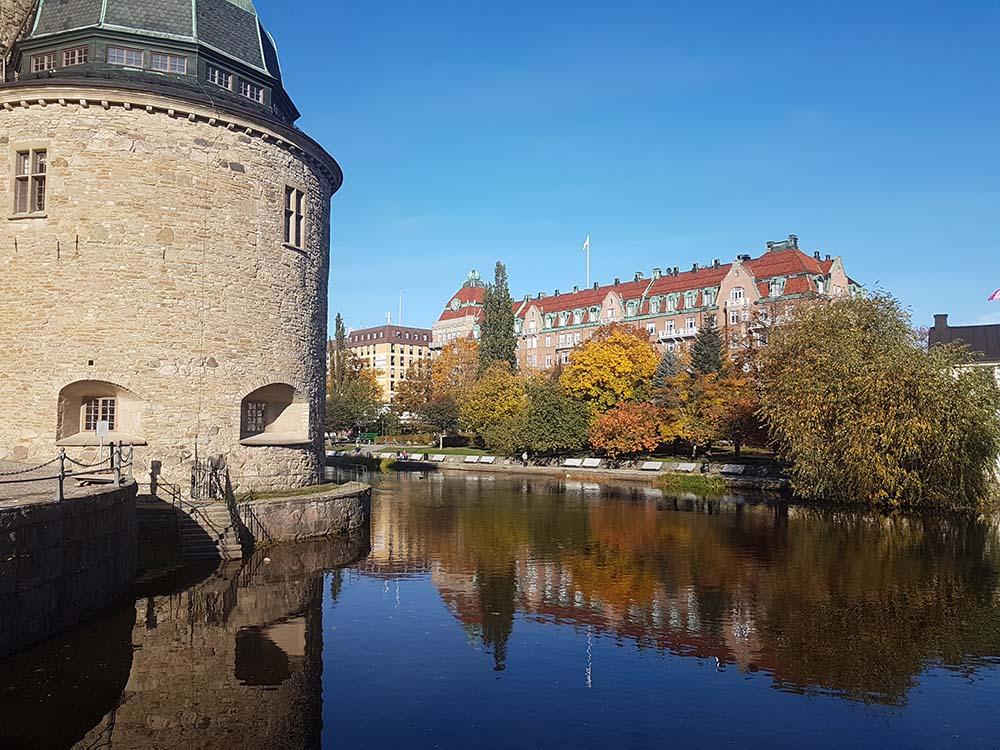 RWB Essen - Spreadthesign Projekt 360° - Schloss in Örebro am Vormittag
