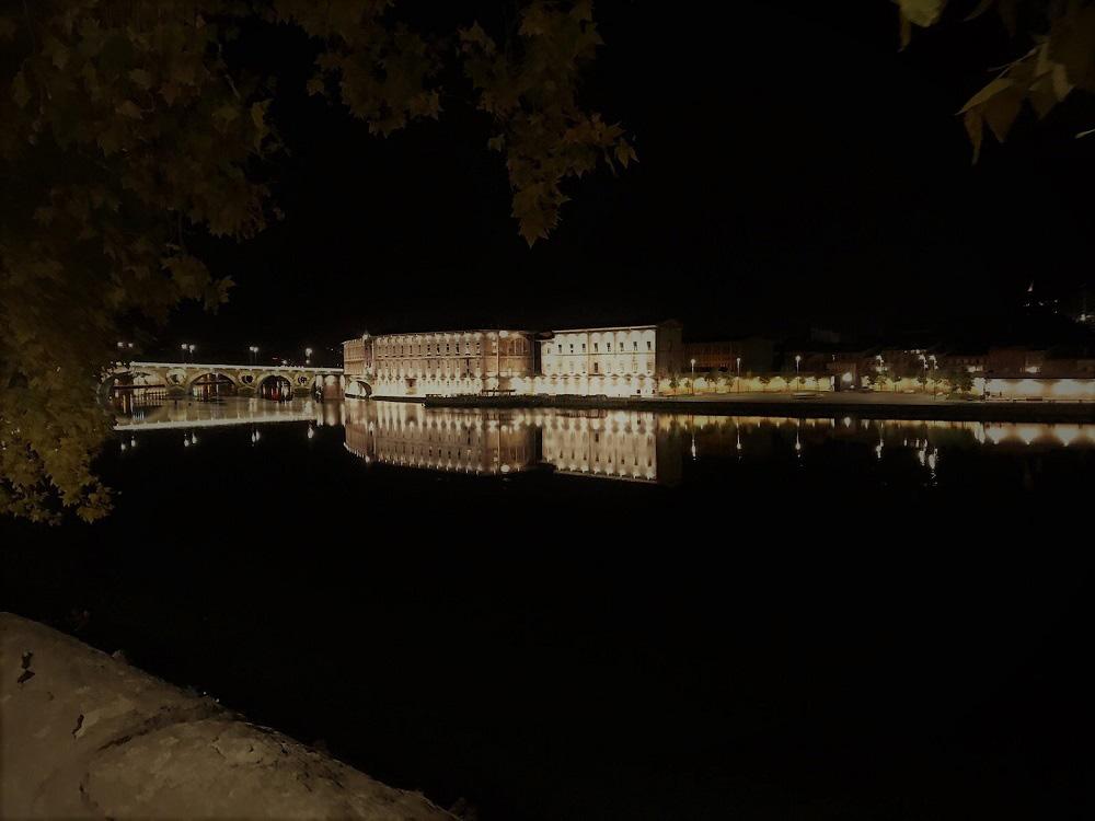 "RWB Essen - Studienfahrt nach Toulouse -  ""Pont neuf"" bei Nacht"