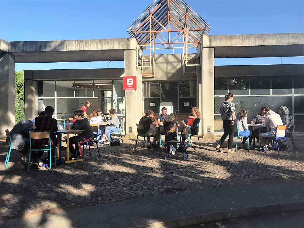 RWB Essen - Studienfahrt nach Toulouse - Arbeit in den Workshops