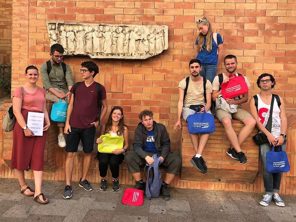 RWB Essen - Studienfahrt nach Toulouse -  Besuch des Rathauses von Toulouse