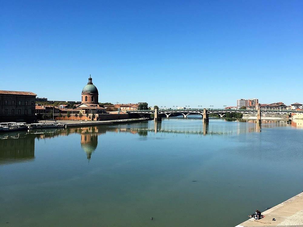 RWB Essen - Studienfahrt nach Toulouse -  Blick auf Toulouse