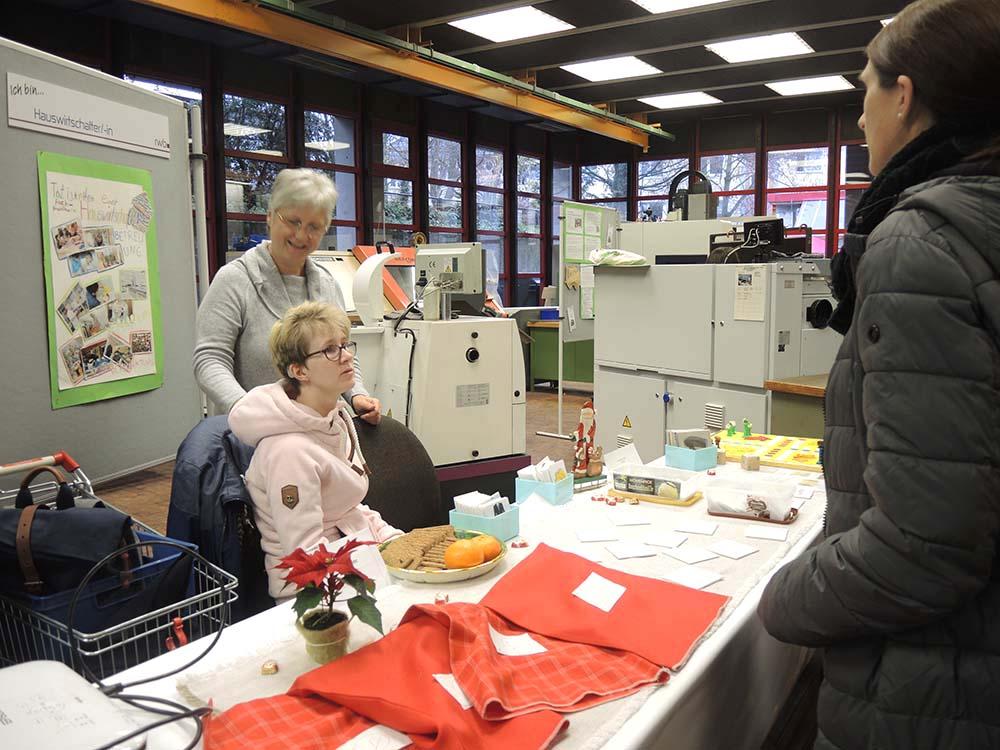 RWB Essen - Berufsbörse 2018 - Berufe im Bereich Ernährung und Versorgung, Gesundheit und Soziales
