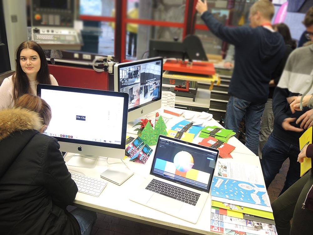 RWB Essen - Berufsbörse 2018 - Berufe im Bereich Medien/Druck