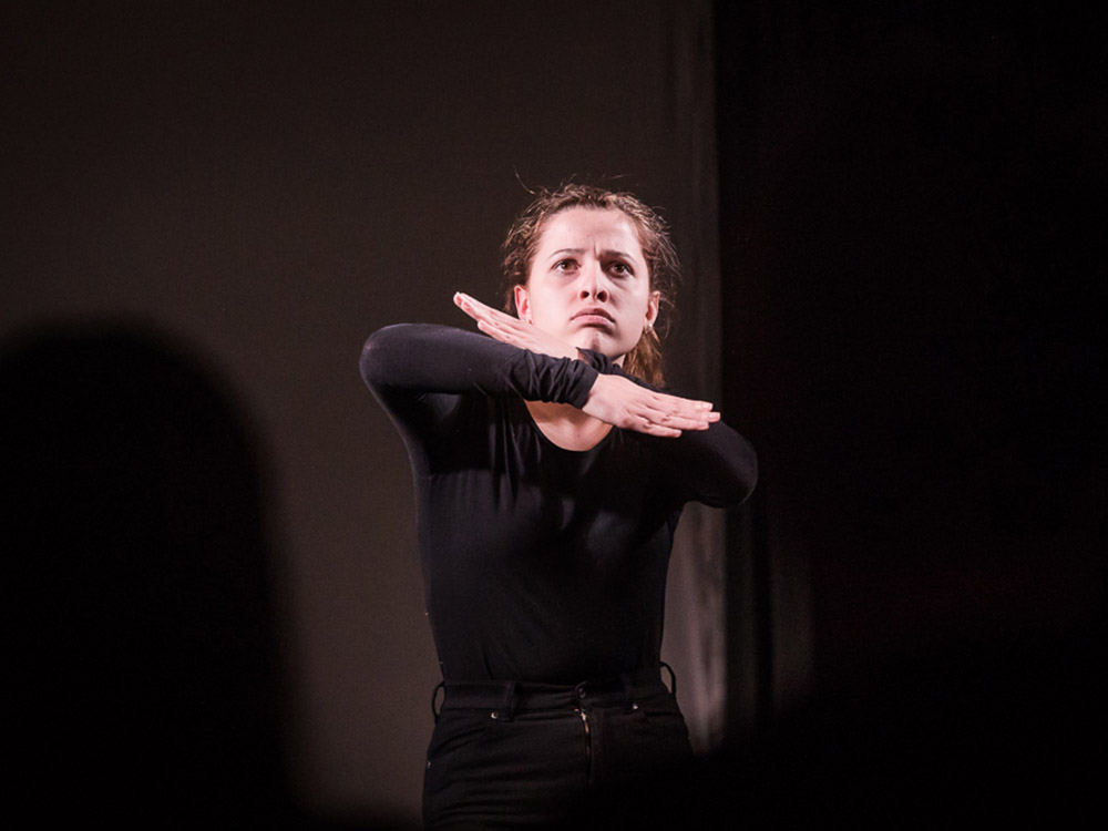 RWB Essen - Deaf slam 5 - Teilnehmerin am Deaf Slam 5