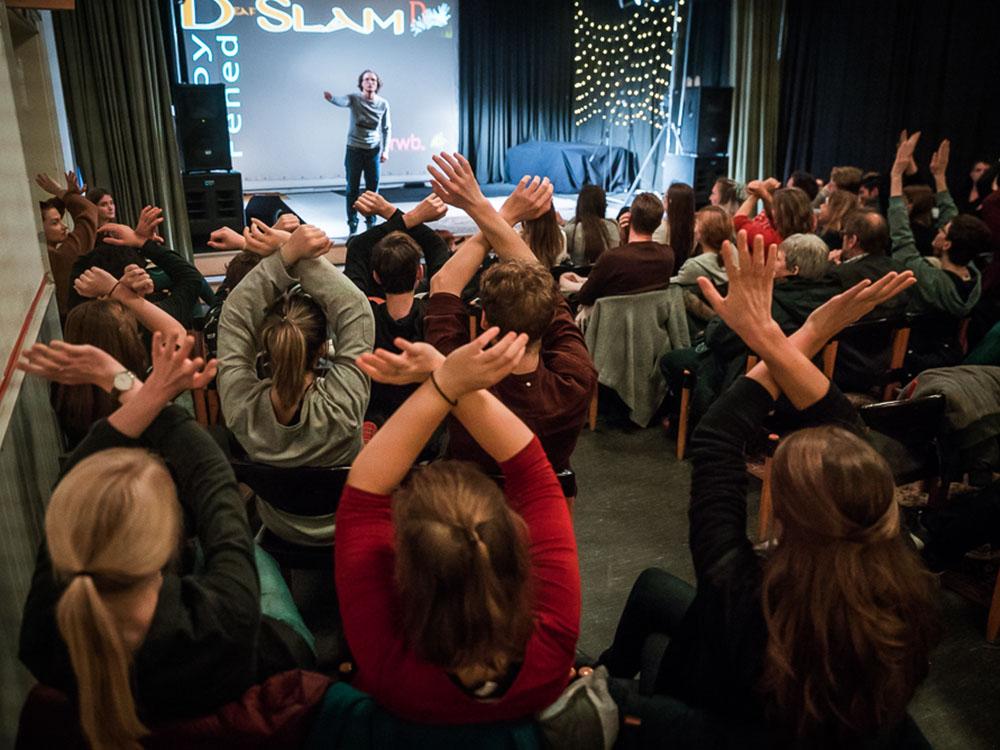RWB Essen - Deaf slam 5 - Abstimmung im Publikum