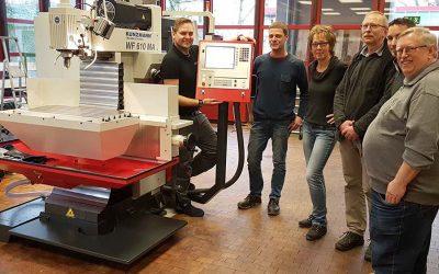 Neue CNC-Fräsmaschine