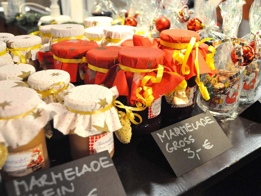 RWB Essen - Weihnachtsmarkt 2018 - Verkauf von Marmeladen