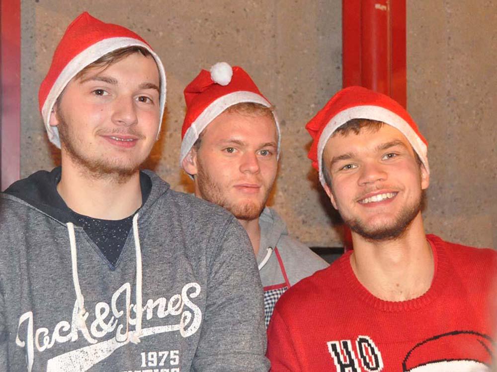 RWB Essen - Weihnachtsmarkt 2018 - Nikoläuse zu Besuch