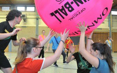 Kin Ball Turnier der 13er Klassen