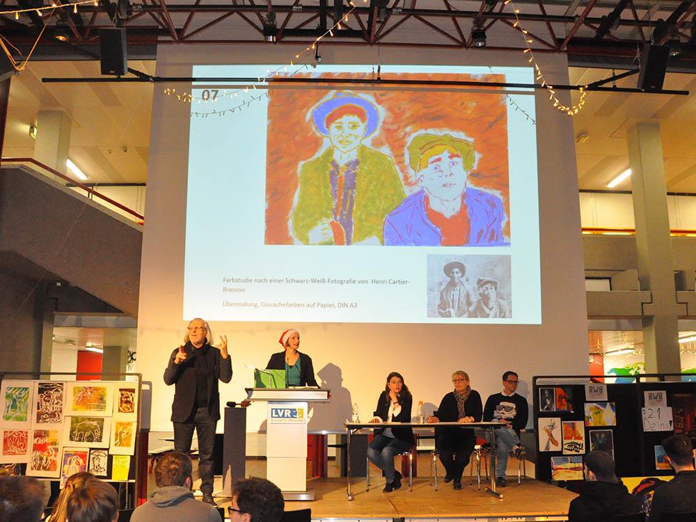 RWB Essen - Kunstauktion 2018 - Die Kunstwerke werden präsentiert.