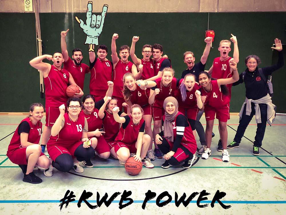 RWB Essen - Qualifikationsturnier für die Basketball-Schülermeisterschaft 2019 - Die Mannschaften