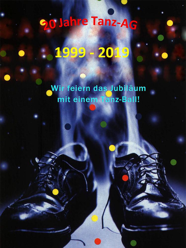 RWB Essen - Plakat 20 Jahre Tanz-AG