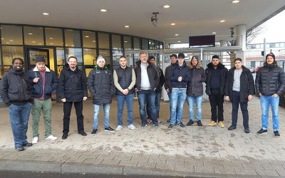 Besuch des Mercedes-Benz Werks in Düsseldorf