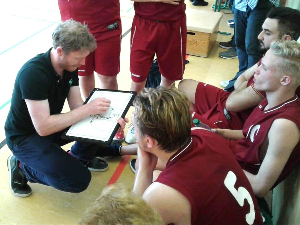 RWB Essen - Basketball-Schülermeisterschaften in Berlin 2019 - Taktische Anweisungen
