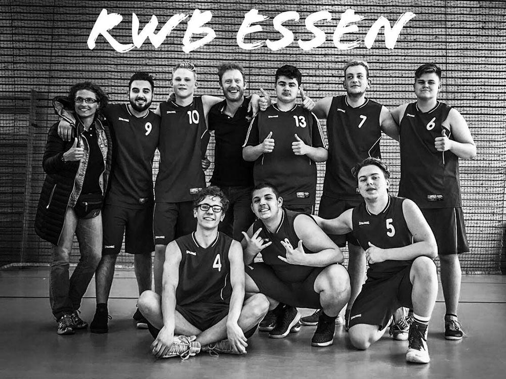 RWB Essen - Basketball-Schülermeisterschaften in Berlin 2019 - Die Mannschaft
