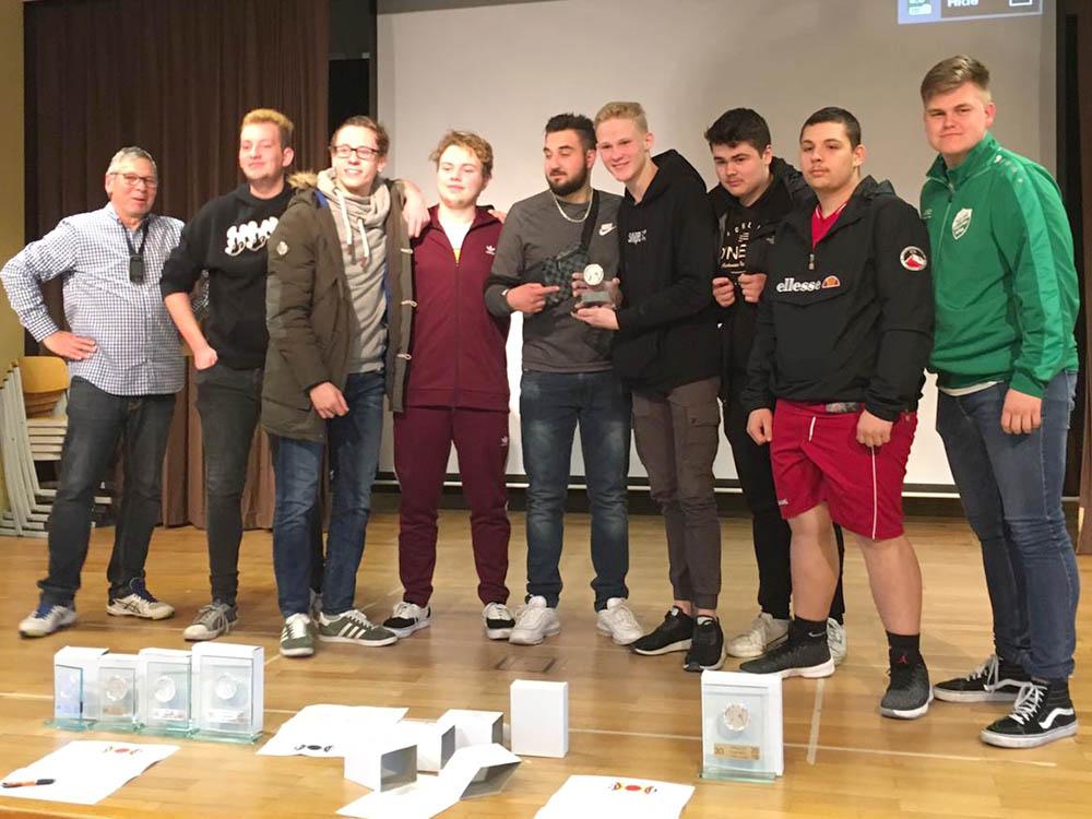 RWB Essen - Basketball-Schülermeisterschaften in Berlin 2019 - Siegerehrung
