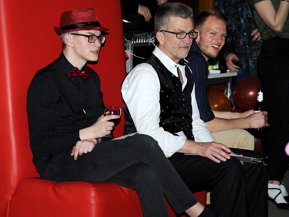 RWB Essen - Jubliäum 20 Jahre Tanz-AG -  Zwischendrin brauchte man auch einfach mal eine Pause.