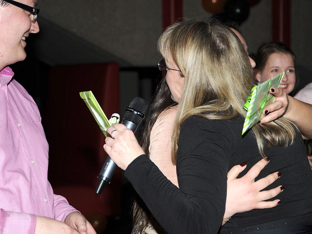 RWB Essen - Jubliäum 20 Jahre Tanz-AG - Dem Leitungsteam der Tanz-AG wurde herzlich gedankt.