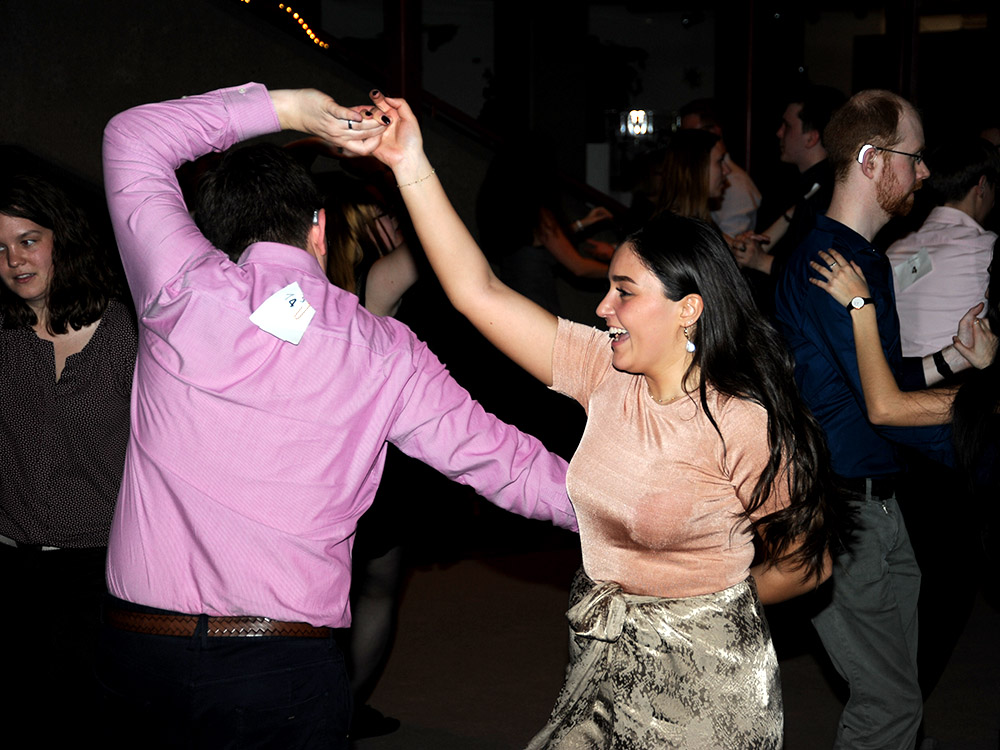 RWB Essen - Jubliäum 20 Jahre Tanz-AG - Es wurde natürlich auch ausgiebig getanzt. Die Stimmung war prächtig.