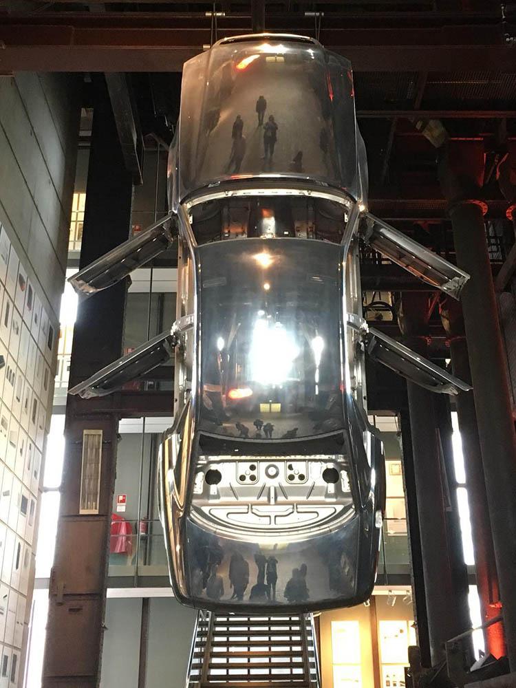 RWB Essen - Besuch des Red Dot Design Museums - Ausstellungsobjekte - Auto